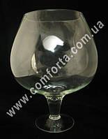 30529 Бокал-бренди 10л, высота ~ 35см холодная отрезка, ваза стеклянная