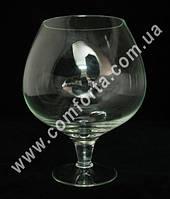 31107 Бокал-бренди 1,8 л, высота ~ 21см холодная отрезка, ваза стеклянная