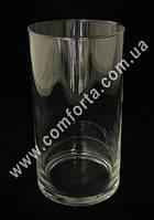 32090 Цилиндр, высота ~ 19 см, диаметр ~ 11 см, ваза стеклянная