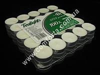 32606 Свечи чайные, упаковка - 100 шт, время горения 1 свечки ~ 4 часа