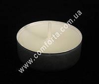 32452 Свеча чайная, диаметр ~ 4 см, время горения ~ 4 часа
