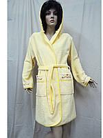 Халат махровый женский 46, 50 Ramel желтый, фото 1
