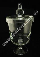 25957 Чаша, ваза с крышкой для кенди бара, высота ~ 38 см, диаметр ~ 20 см