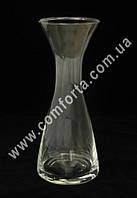 33459 Талия, высота ~ 21,5 см, диаметр ~ 8,5 см, ваза стеклянная