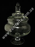 25970 Шар, ваза с крышкой для кенди бара, высота ~ 38 см, диаметр ~ 22 см