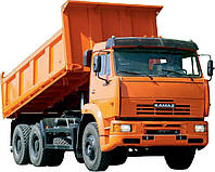Оренда самоскида КАМАЗ (12 куб.) 25грн/км 435 грн/год