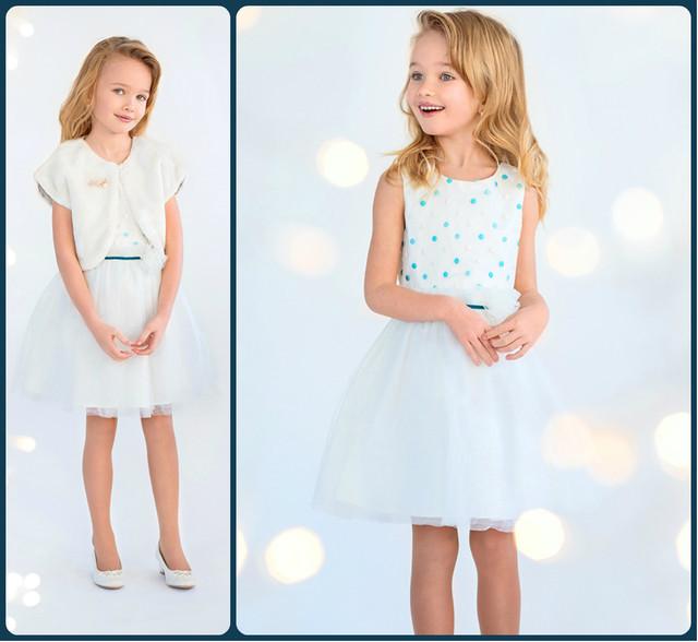 Модное платье для девочки фото