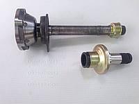 Полуось правая, вал привода, флянец VW T4 2.5 (65/75kw) Фольксваген Транспортер Т4