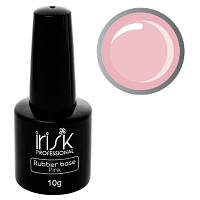 """База каучуковая камуфлирующая """"IRISK"""" Rubber Base Pink, 10 г, светло-розовая"""