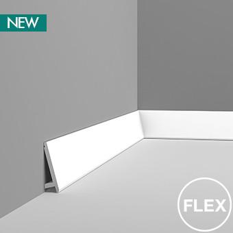 SX179F - Diagonal плінтус в гнучкому виконанні