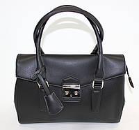Классическая черная женская сумка David Jones