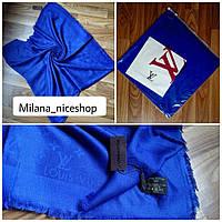 Платок Louis Vuitton синий