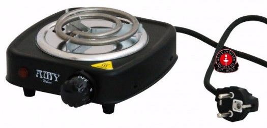 Плита Amy Hot Turbo, 500W, для розжига углей кальяна