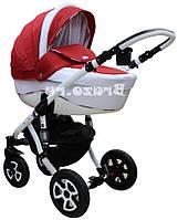 Детская коляска универсальная 2 в 1 Adamex Barletta 02P (Адамекс Барлетта)