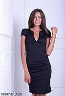 Жіноче чорне вечірнє плаття Helga Розпродаж (XXL)