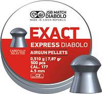 Пули пневматические JSB Diabolo Exact Expres 4,52 мм