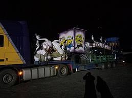 Перевозка негабаритного груза с Украины в Молдову 2