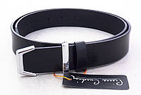 Стильный брючный кожаный ремень Pierre Cardin , фото 1