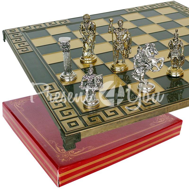 Шахматы «Римляни», 45х45 см.