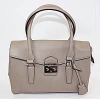 Женская сумочка David Jones бежевого цвета