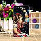 Яркие оригинальные чехлы (силикон) с картинками для ZTE Blade A610 Ромбы, фото 8