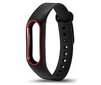 Силиконовый ремешок Primo для фитнес-браслета Xiaomi Mi Band 2 - Black-Red