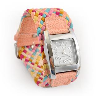 Часы женские наручные Fashion Lady Cord pink (розовый)