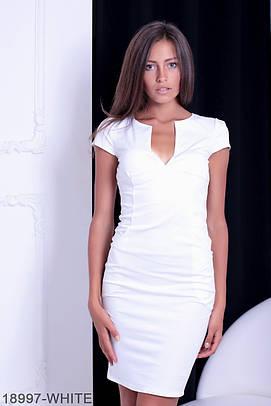 Жіноче біле вечірнє плаття Helga