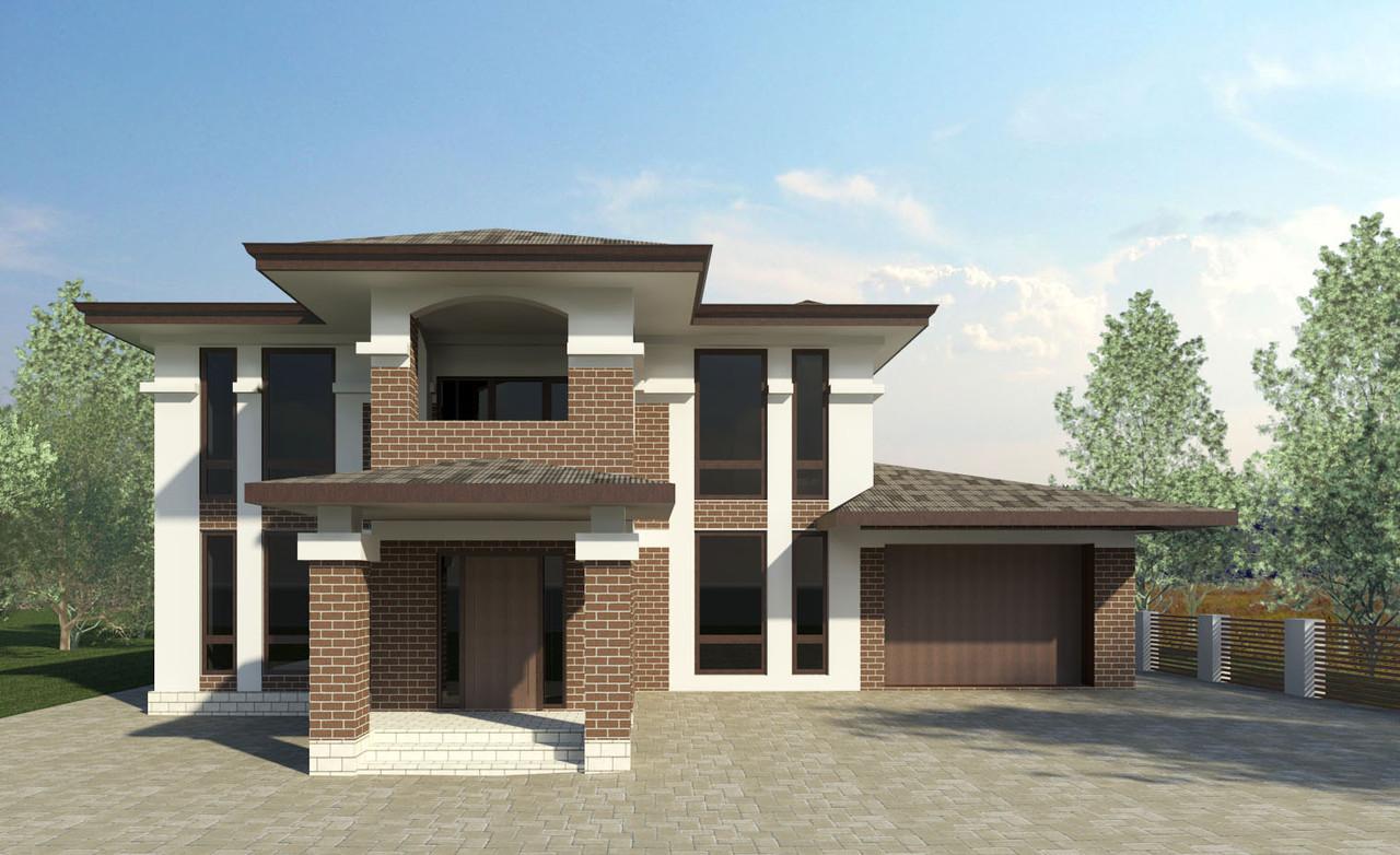 Архітектурний проект будинку, котеджу