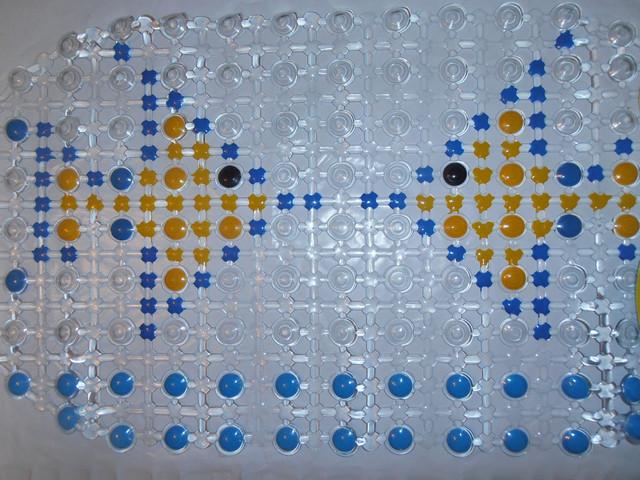 Антискользящий коврик в ванную опт фото