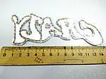 Нашивка апликация клеевая вышивка на тканевой основе клеится утюгом или пришивается , светоотражающая , фото 5