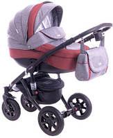 Детская коляска универсальная 2 в 1 Adamex Barletta 401L (Адамекс Барлетта)