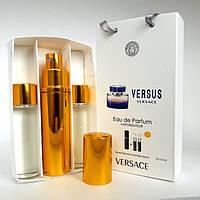 Подарочный парфюмерный набор для женщин Versace Versus (Версаче Версус) 3х15 ml DIZ