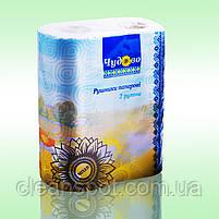 Бумажные полотенца кухонные 2-х слойные целлюлоза ламинация Чудово, фото 2