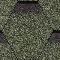 DOCKE SIMPLE Сота зеленый Битумная черепица (3 м2/уп)