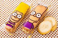 Бисквитное печенье Симпсон (симпатяшки-банан), 1,3 кг (33 шт)