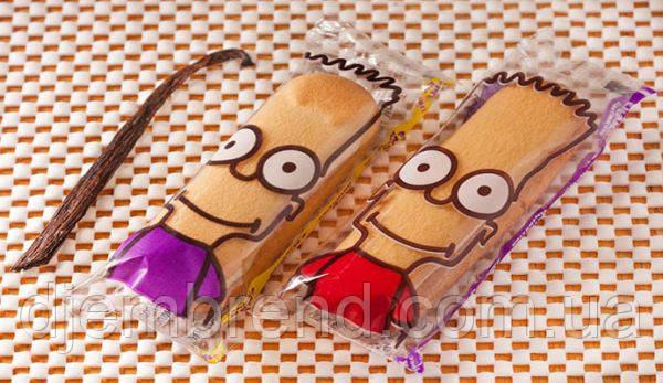 Бисквитное печенье Симпсон (симпатяшки-банан), 1,3 кг (33 шт), фото 2