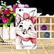 Силиконовый бампер для ZTE Blade A610 с рисунком Чеширский кот, фото 3