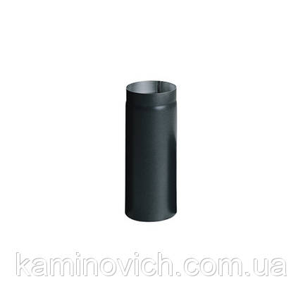 Дымоходная труба из черной стали 0.5м Ф200, фото 2