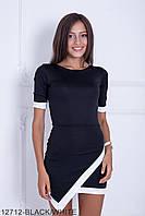 Стильне чорне жіноче плаття Redison (S-XXL)