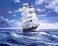 Набор алмазной мозаики Корабль в океане 40 х 30 см (арт. FS365) , фото 1