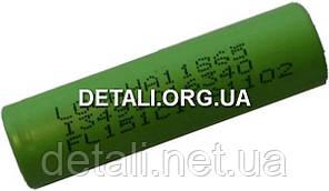 Банка Li-Ion 1.5Ah LG для аккумулятора шуруповерта d18 h65