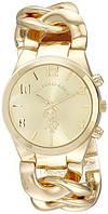 Женские часы U.S. Polo Assn. USC40069 золотые с плетеным браслетом ОРИГИНАЛ США