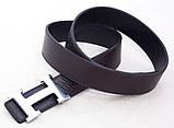 Ремень HERMES двухсторонний кожаный ( черный / коричневый ), фото 5