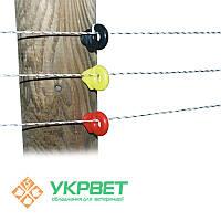 Изолятор вкручиваемый для проволоки, бечёвки и лент шириной до 10мм, 1000 шт