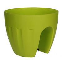 Горшок для цветов Elba зеленый