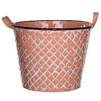 Горшок для цветов Jano 24 см, розовый