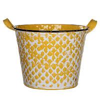 Горшок для цветов Jano 24 см, желтый