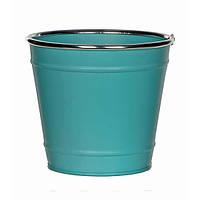 Горшок для цветов 13 см, бирюза