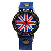 Часы женские наручные BRITISH FLAG blue (синий)